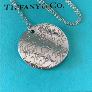 Tiffany & Co. Jewelry - Tiffany & Co. notes necklace sterling silver 16 in